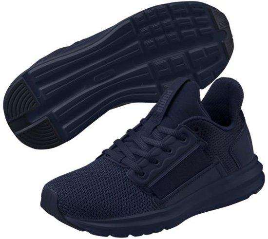 6363a4d893c bol.com | PUMA Enzo Street Jr Sneakers Kinderen - Peacoat-Peacoat ...