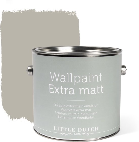 Little Dutch - Muurverf Mat - Vintage Beige - 2,5 liter