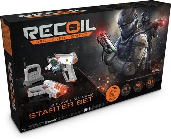 Recoil Starter Set Laser GPS FPS Spel - Goliath