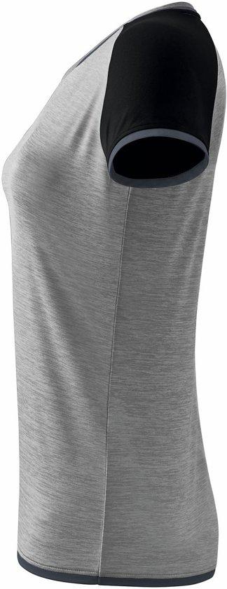Erima Sportshirt - Maat 38  - Vrouwen - grijs/zwart/wit