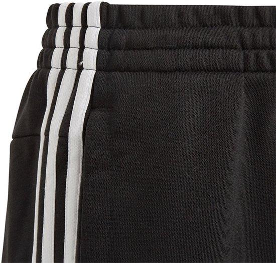 adidas Essentials 3 Stripes trainingsbroek meisjes zwartwit