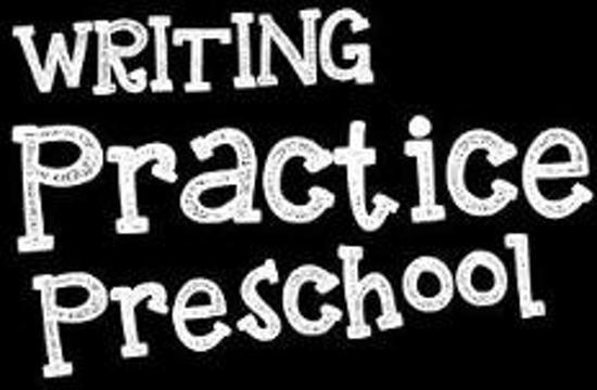 Writing Practice Preschool