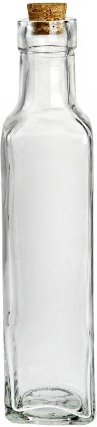xl decoratieve glazen fles met kurk dop grote
