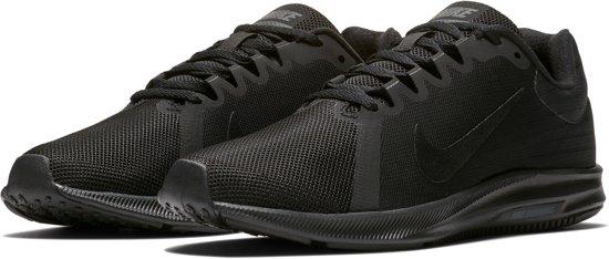 Nike Downshifter 8 Hardloopschoenen Dames Hardloopschoenen - Maat 38.5 -  Vrouwen - zwart