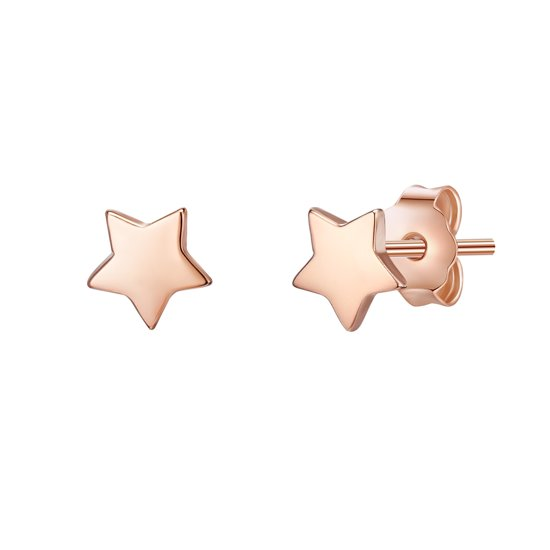 Glanzstücke München Ohrstecker Sterling Silber rosévergoldet