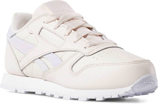 a91ab4594a3 bol.com | Reebok Classic Leather Sneakers Kinderen - Pale Pink/White ...
