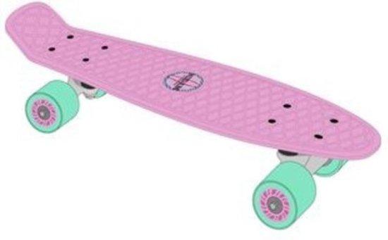Pennyboard Penny Board Retro Plastic Skateboard - 28 inch - Lila