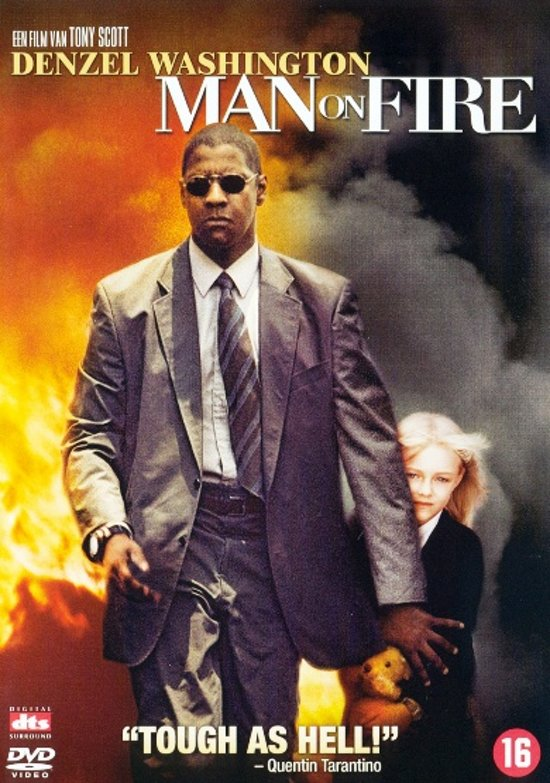 Cover van de film 'Man On Fire'
