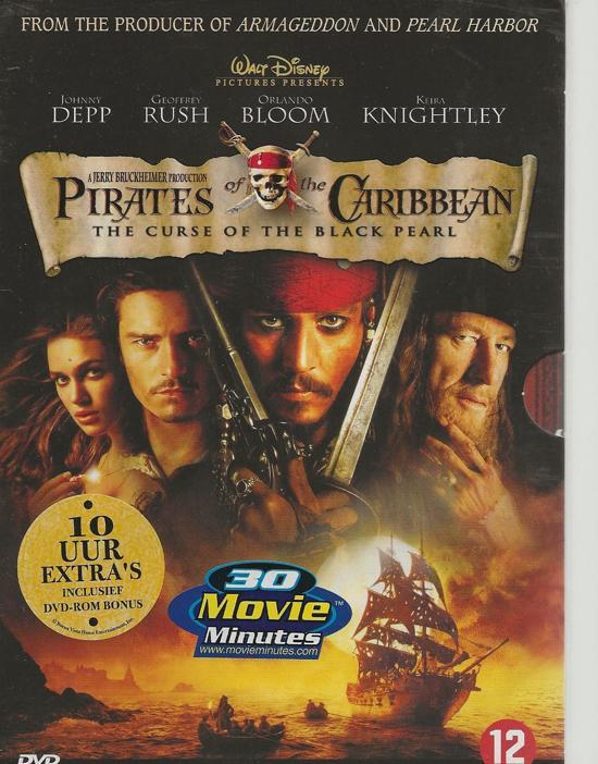 PIRATES OF THE CARIB.DVD NL/BE