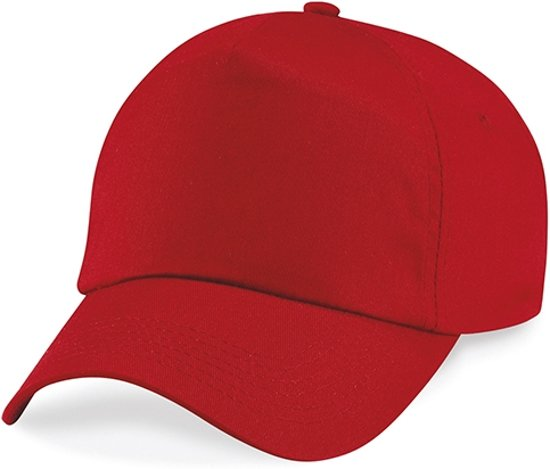 Original 5 Panel Cap Classic Red