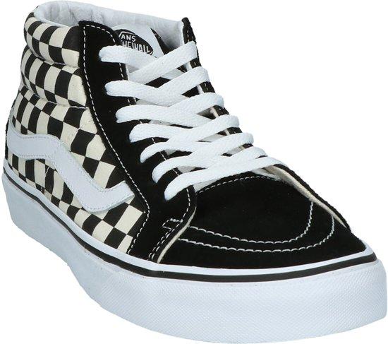 Zwart Reissue Mid Vans Sk8 Maat Dames 40 Checkerboard Sneakers xqUIYgP