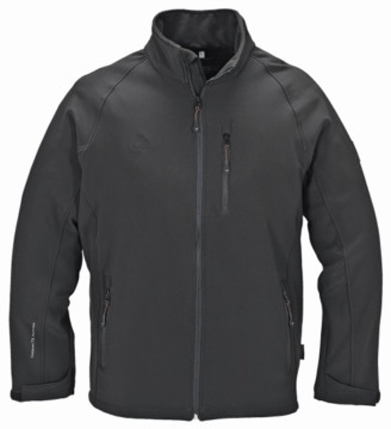 Terratrend Heren Softshell Jas 60250 - zwart - 4XL