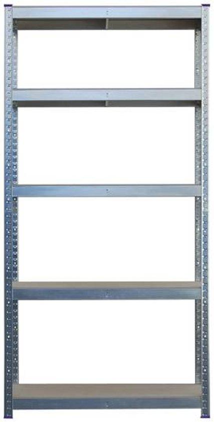 Stellingkast 25 Cm Diep.Bol Com Opbergrek Met 5 Planken Of Werkbank 875 Kg