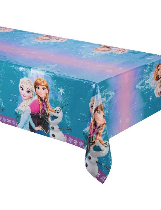 Plastic Frozen™ tafelkleed - Feestdecoratievoorwerp