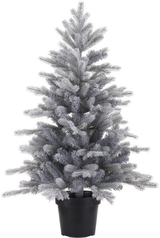 Bol Com Everlands Grandis Frosted Mini Kerstboom 90 Cm Inclusief