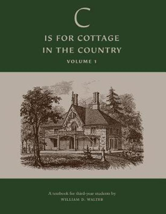 'c' Is for Cottage in the Country