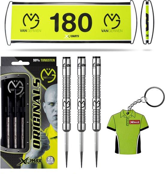 Michael van Gerwen - 90% Tungsten - dartpijlen - TRIPLE PACK - Michael van Gerwen dartpijlen - darts shafts - darts flights - 21 gram