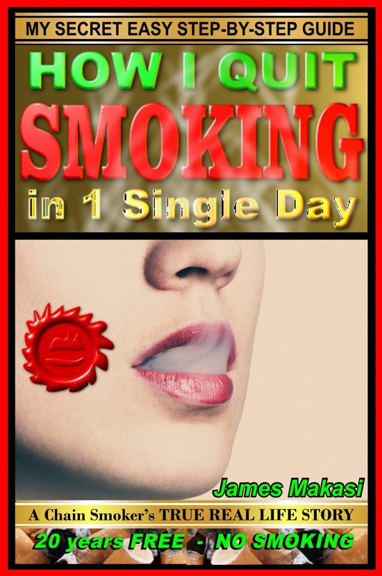 Boek cover How I Quit Smoking In 1 Single Day: A Chain-Smokers True Real Life Story van James Makasi (Onbekend)