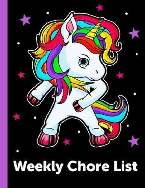 Weekly Chore List: Daily and Weekly Responsibility Tracker for Kids