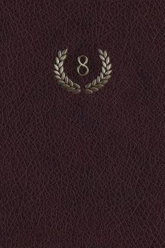 Monogram 8 Any Day Planner Notebook