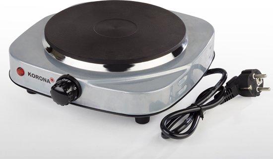 Korona 59020- RVS elektrische kookplaat 1500 Watt