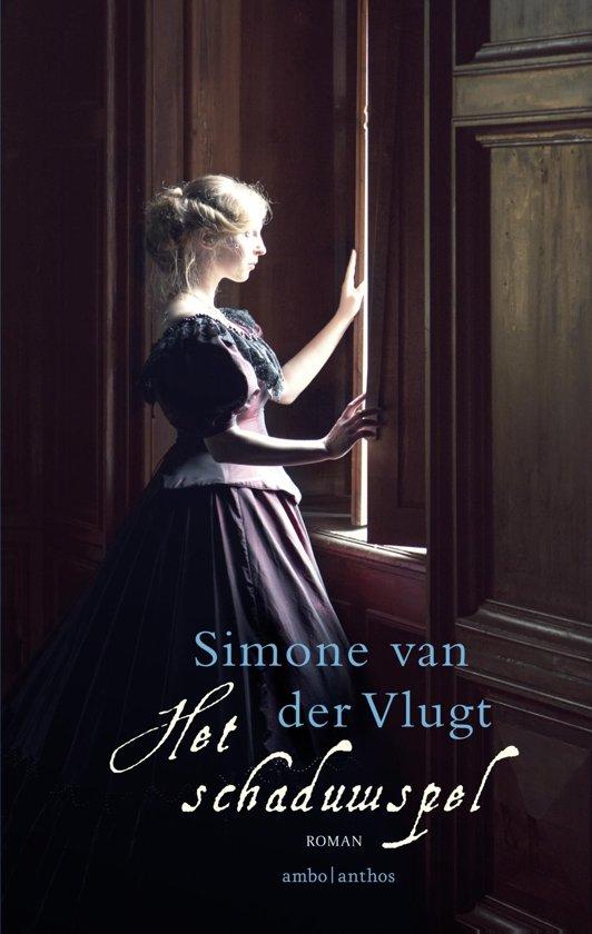Boek cover Het schaduwspel van Simone van der Vlugt (Onbekend)