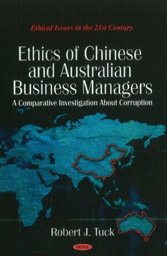 Ethics of Chinese & Australian Business Managers