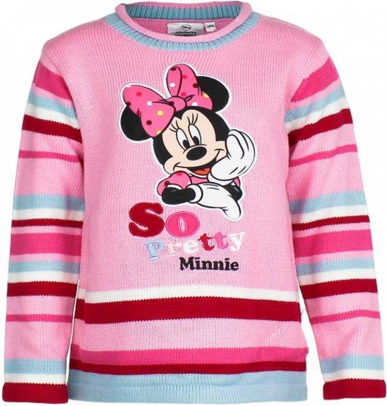 Minnie Mouse trui roze voor meisjes 128