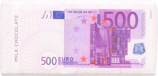 500 EURO Melk Chocoladereep - 20 x 100 gram