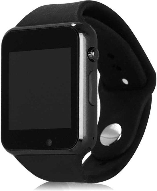 SmartWatch-Trends SWTa1 Bluetooth SmartWatch - Met SIM Kaart Slot -  Android / IOS - Zwart