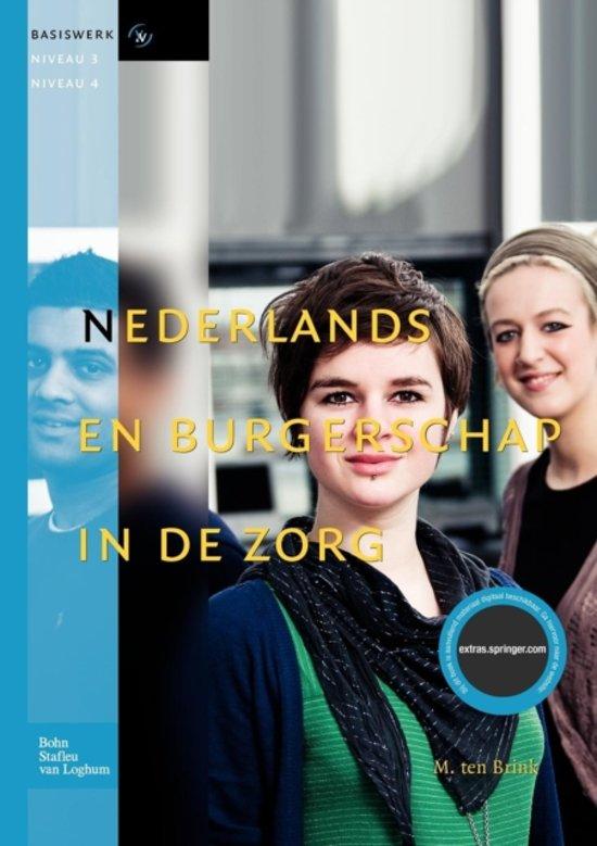 Basiswerk V V Nederlands en burgerschap in de zorg