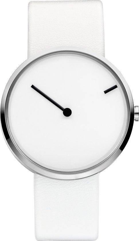 Jacob Jensen Curve 253 - Horloge - 32 mm - Wit