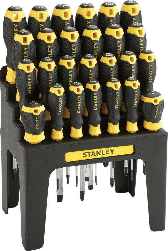 Stanley schroevendraaierset 26 delig for Boeken opbergsysteem