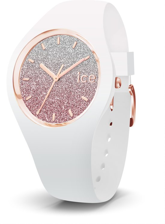 Ice-Watch ICE Lo IW013427 Horloge - Siliconen - Wit - Ø 34 mm