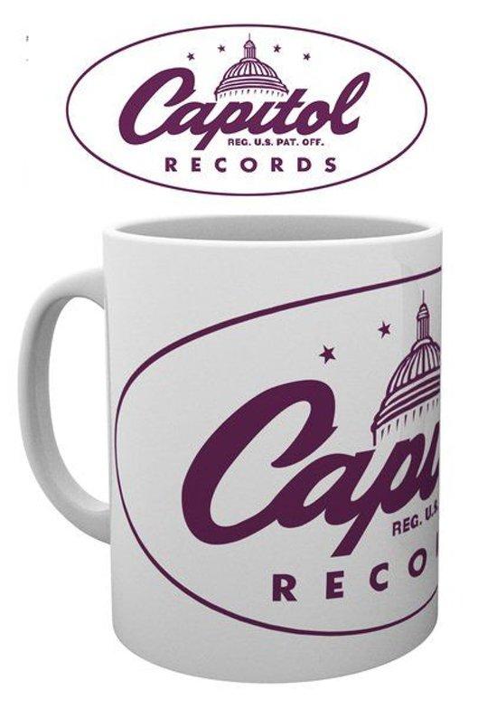 Capitol Records Logo Mok
