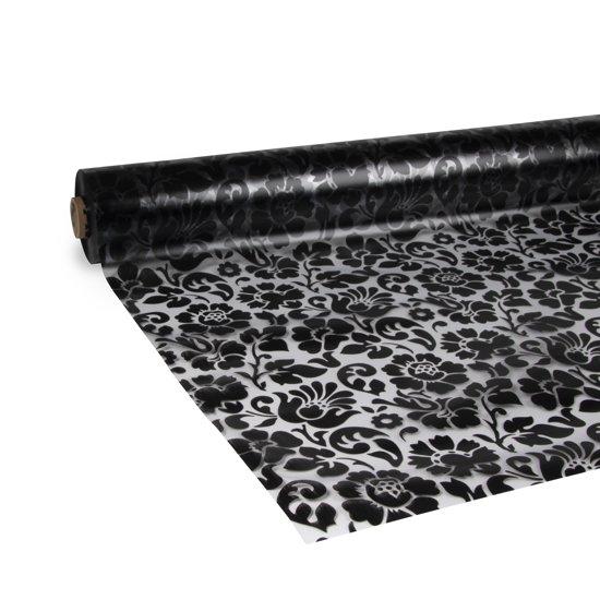 d-c-fix - Tafelzeil - Barock - Zwart - 140x300 cm