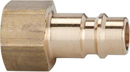 Steeknippel NW7,2 MS IG G3/8 v.kopp. Riegler