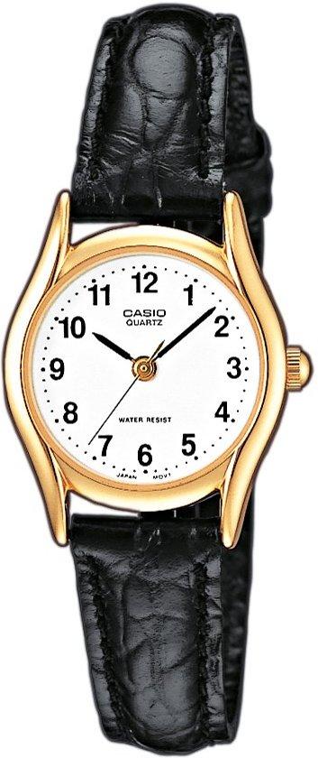 e9fe35eeb0f bol.com   Casio Ltp-1154Q-7Bef - Horloge - 23 mm - Leer - Zwart