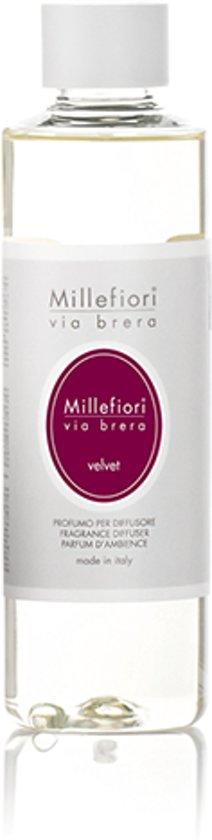 """Millefiori via brera """"velvet"""" navulling 250ml"""