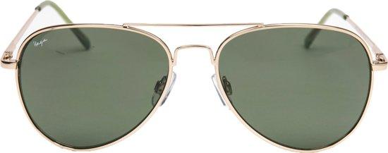 53464afe6c07e8 Haga Eye wear zonnebril kind pilotenbril goud - 5-10 jaar