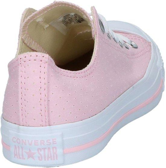 38 Cherry Dames Converse Roze Laag Sneaker white Blossom white Gekleed As Ox Maat XzwzFqn0