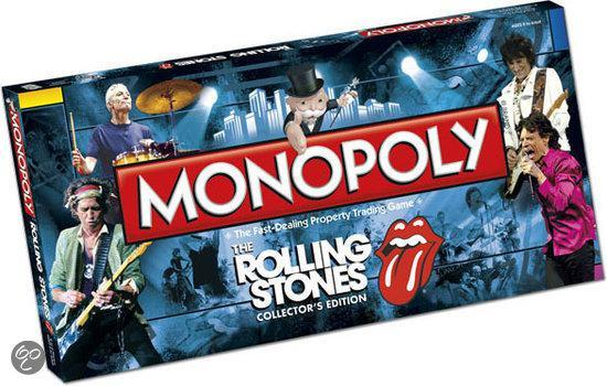 Monopoly The Rolling Stones Collector's Edition