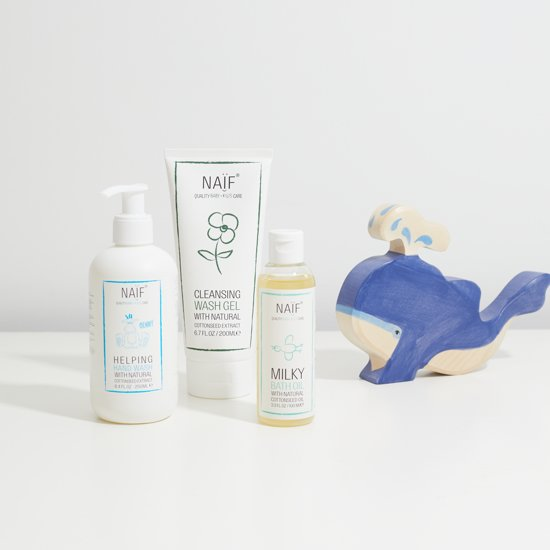 Naïf Milde Bad Olie - 100 ml - voor baby's en kids