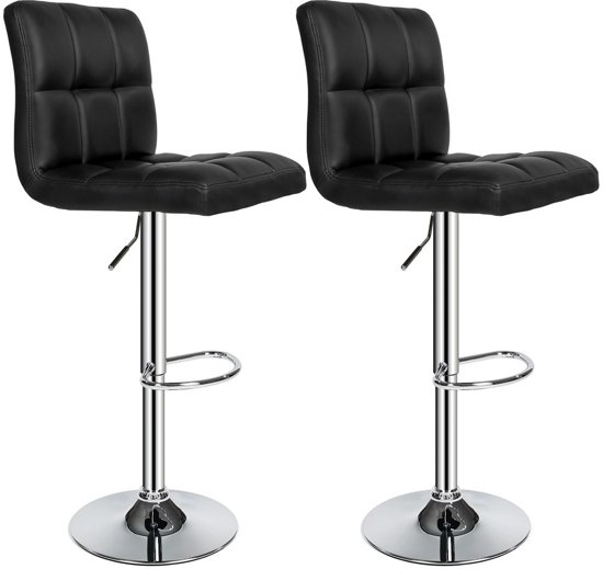 tectake barkruk set van 2 barkrukken barstoel kruk verstelbaar 401559. Black Bedroom Furniture Sets. Home Design Ideas