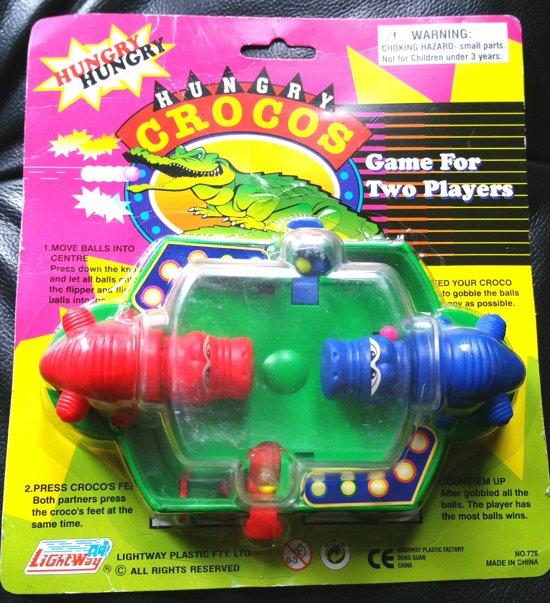 Afbeelding van het spel 2 player game Hungry Croco's