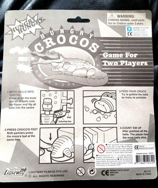 Thumbnail van een extra afbeelding van het spel 2 player game Hungry Croco's