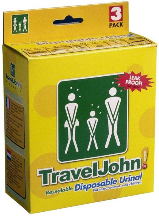 TravelJohn plaszak (3 stuks)