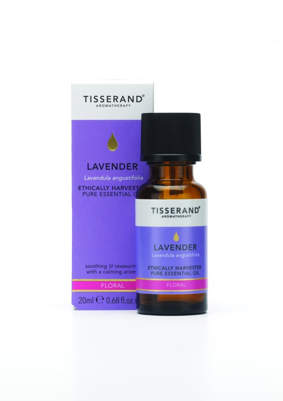 Tisserand Lavender (lavendel) Etherische Olie ethically harvested 20ml