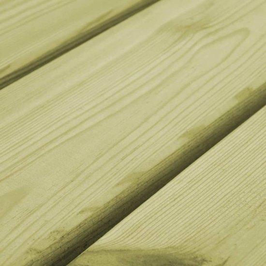 vidaXL Tuinbank 170 cm FSC geïmpregneerd grenenhout