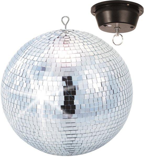beamz spiegel disco bal 30cm inclusief motor beamz